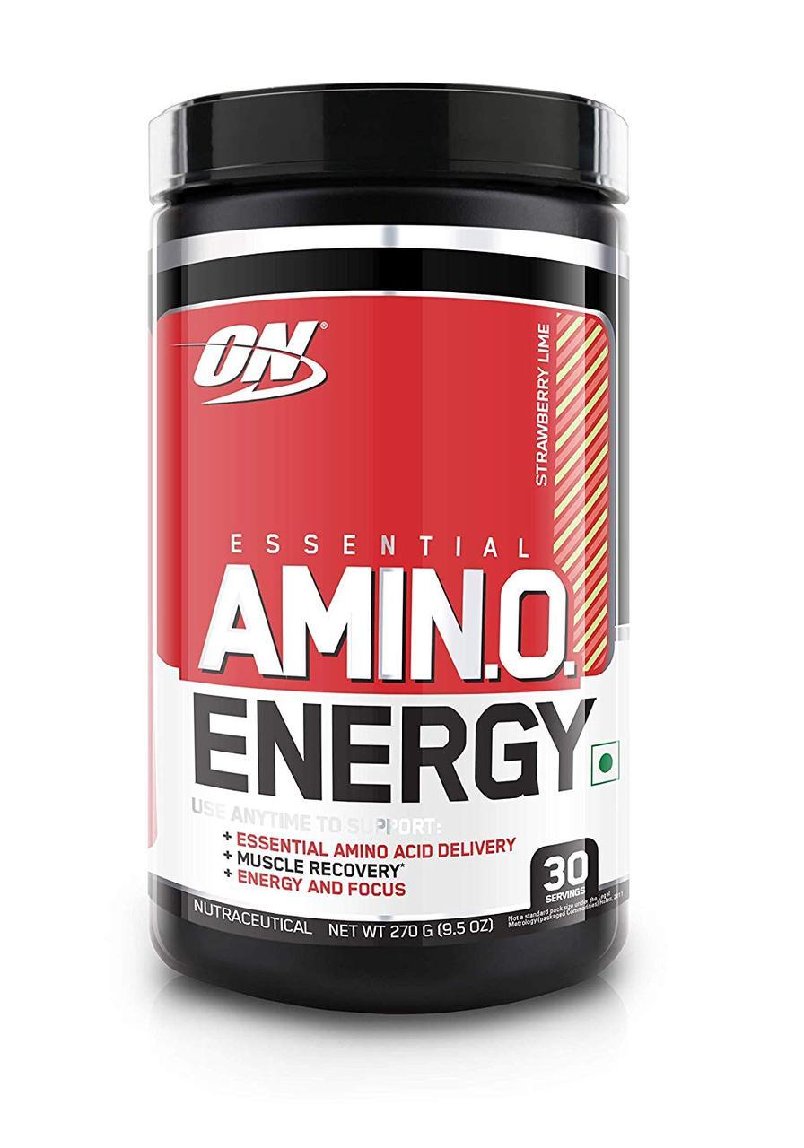 Аминокислоты Optimum Nutrition Amino Energy 270g. (КЛУБНИКА-ЛАЙМ)