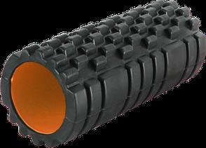 Роллер масажный Power System Fitness Foam Roller PS-4050 Black/Orange