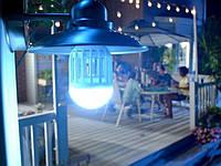 Антимоскитная лампа ловушка от комаров и энергосберегающая лампочка 2 в 1 Е27  Lamp