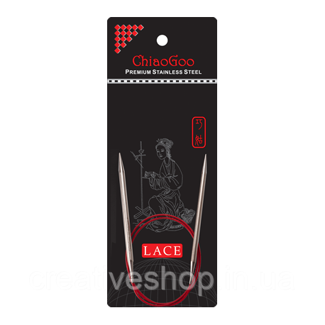 Спицы Chiaogoo Red Lace круговые (40 см) 3 мм