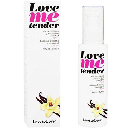 Массажное масло Love To Love LOVE ME TENDER Vanille (100 мл) натуральное без консервантов