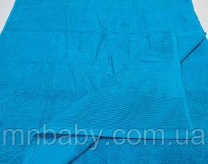 Полотенце махровое 70*140 см бирюза