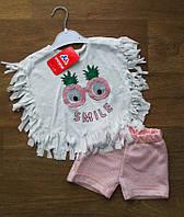Летний костюм для девочки турецкий,интернет магазин,детская одежда Турция,турецкий детский трикотаж,коттон
