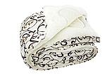 Одеяло 175х210 Уют Меховое Двуспальное Универсальное Холлофайбер Гипоаллергенне, фото 3