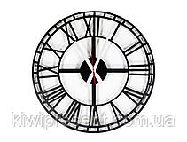 """Стильные настенные часы  """"Век"""" (50 см). Классические часы на стену в современном формате., фото 3"""