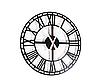 """Стильные настенные часы  """"Век"""" (50 см). Классические часы на стену в современном формате., фото 2"""