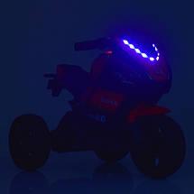 Детский мотоцикл трехколесный с подсветкой Yamaha Bambi M 4135EL-3, фото 2