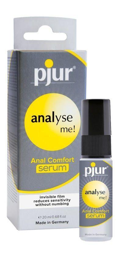 Расслабляющий анальный гель pjur analyse me! Serum 20мл, создает пленку, концентрированный