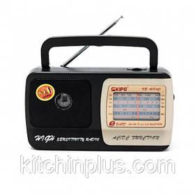 Портативний радіоприймач Kipo KB-408AC