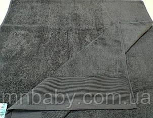 Полотенце махровое 70*140 см серое
