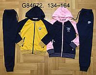 Трикотажный костюм-двойка для девочек Grace оптом , 134-164 pp., фото 1