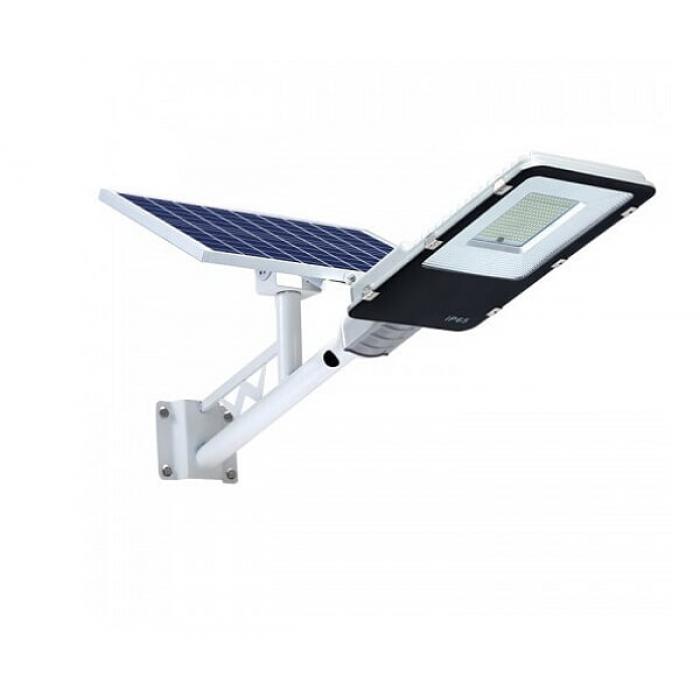 Консольний светильник на солнечной батарее Solar Light 200W (метал.корпус)