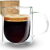 Чашка з подвійною стінкою 500мл Big Classic  201-1