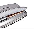 Чехол для Макбук Macbook Air/Pro 13,3'' с ручкой - темно-серый, фото 6