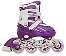Ролики детские Maraton комплект ( Шлем, Защита ) Chicago 34-37, 38-41 (4 цвета), фото 2