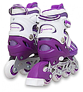 Ролики детские Maraton комплект ( Шлем, Защита ) Chicago 34-37, 38-41 (4 цвета), фото 3