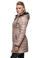 Зимняя женская куртка удлиненная.