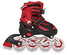 Ролики детские Maraton комплект ( Шлем, Защита ) Chicago 34-37, 38-41 (4 цвета), фото 5