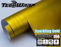 TeckWrap 190 VCH308 Sparkling gold / Золотой матовый хром
