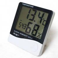HTC 1 - термометр, гигрометр с часами, будильником
