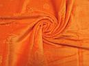 Полотенце велюр 70*140 см апельсин, фото 4
