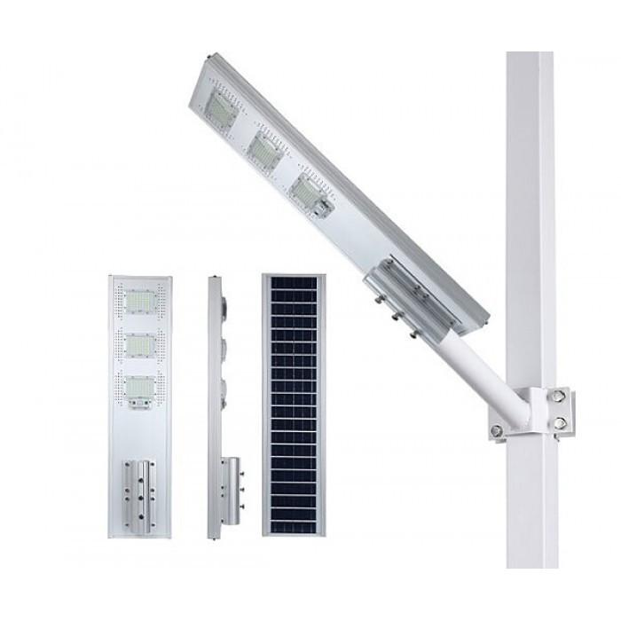 LED уличный светильник на солнечной батарее 180W (на пульте)