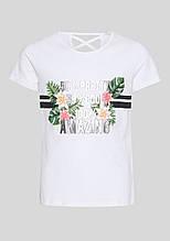 Подростковая футболка на девочку C&A Германия Размер 158-164