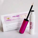 Feg для ресниц Средство для роста ресниц FEG PRO Advanced (улучшенная формула) - 100% Оригинал, фото 3