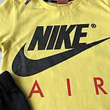 Летний желтый костюм в стиле Nike на мальчика 24. Размер  98 см, 104 см, фото 2
