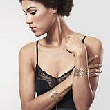 Наручники Bijoux Indiscrets Desir Metallique Handcuffs - Gold, металлические, стильные браслеты, фото 8