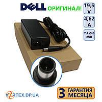 Зарядное устройство для ноутбука 7,4-5,0 pin 4,62A 19,5V Dell оригинал бу