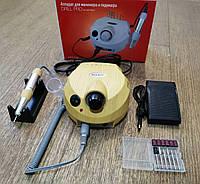Фрезер для маникюра Nail Drill ZS-601, 65W 45 000 об/мин (цвет - дерево)