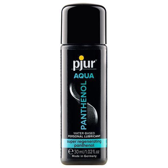 Смазка на водной основе pjur Aqua Panthenol 30 мл с пантенолом, уход и увлажнение