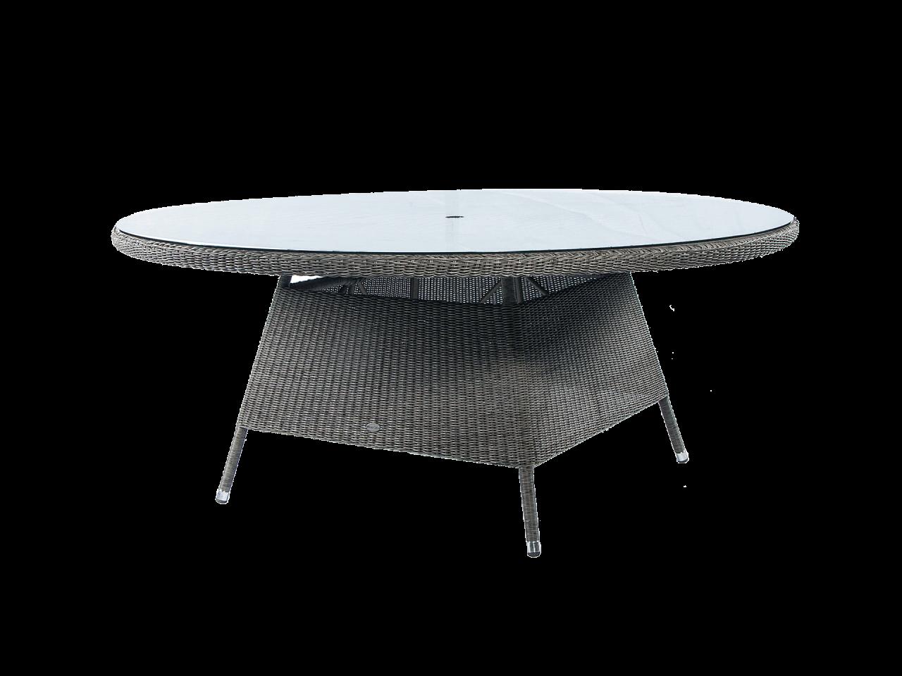 Стол со стеклом Monte Carlo 1.8 м.
