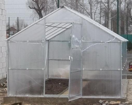 теплицы двускатные из поликарбоната от производителя в Украине