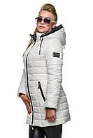 Куртка женская зимняя удлиненная., фото 1