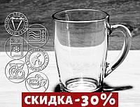 "Кружка Стеклянная Для Чая ""Капучино"" 300мл (07С1334)"