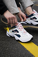 Кроссовки женские Nike M2K Tekno, белые, Найк М2К Техно, код SS-0035