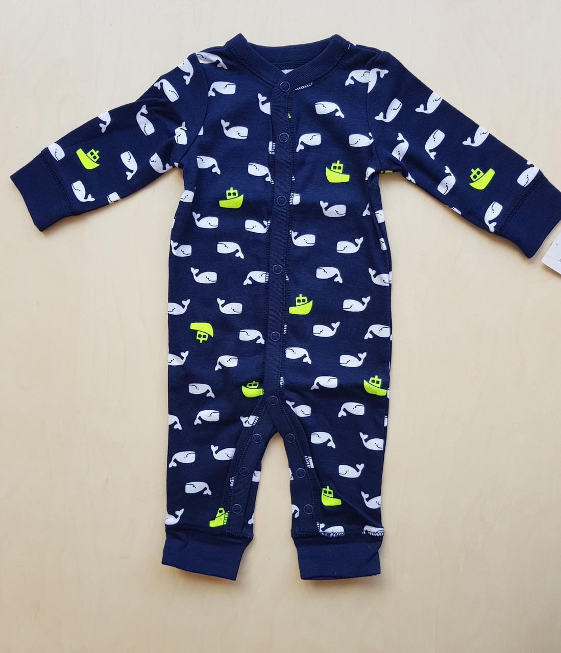 Carters Человечик (слип) для мальчика на 6 месяцев