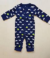 Carters Человечик (слип) для мальчика на 6 месяцев, фото 1