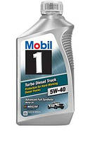 Моторне масло Mobil 1 5W-40 Advanced Full Synthetic Turbo Diesel Truck (98LM07) 946 мл