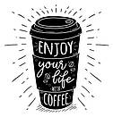 Наклейка на стену Enjoy (кофе всегда отличная идея), фото 2