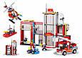 Конструктор Пожарная станция Sluban  M38-B0631, 612 дет. Пожарный конструктор, конструктор пожарный участок, фото 2