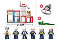 Конструктор Пожарная станция Sluban  M38-B0631, 612 дет. Пожарный конструктор, конструктор пожарный участок, фото 3