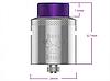 Hellvape Dead Rabbit RDA - Атомайзер для электронной сигареты. Оригинал., фото 2