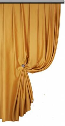 Ткань Блэкаут Однотонный золотой песок Hardal, фото 2