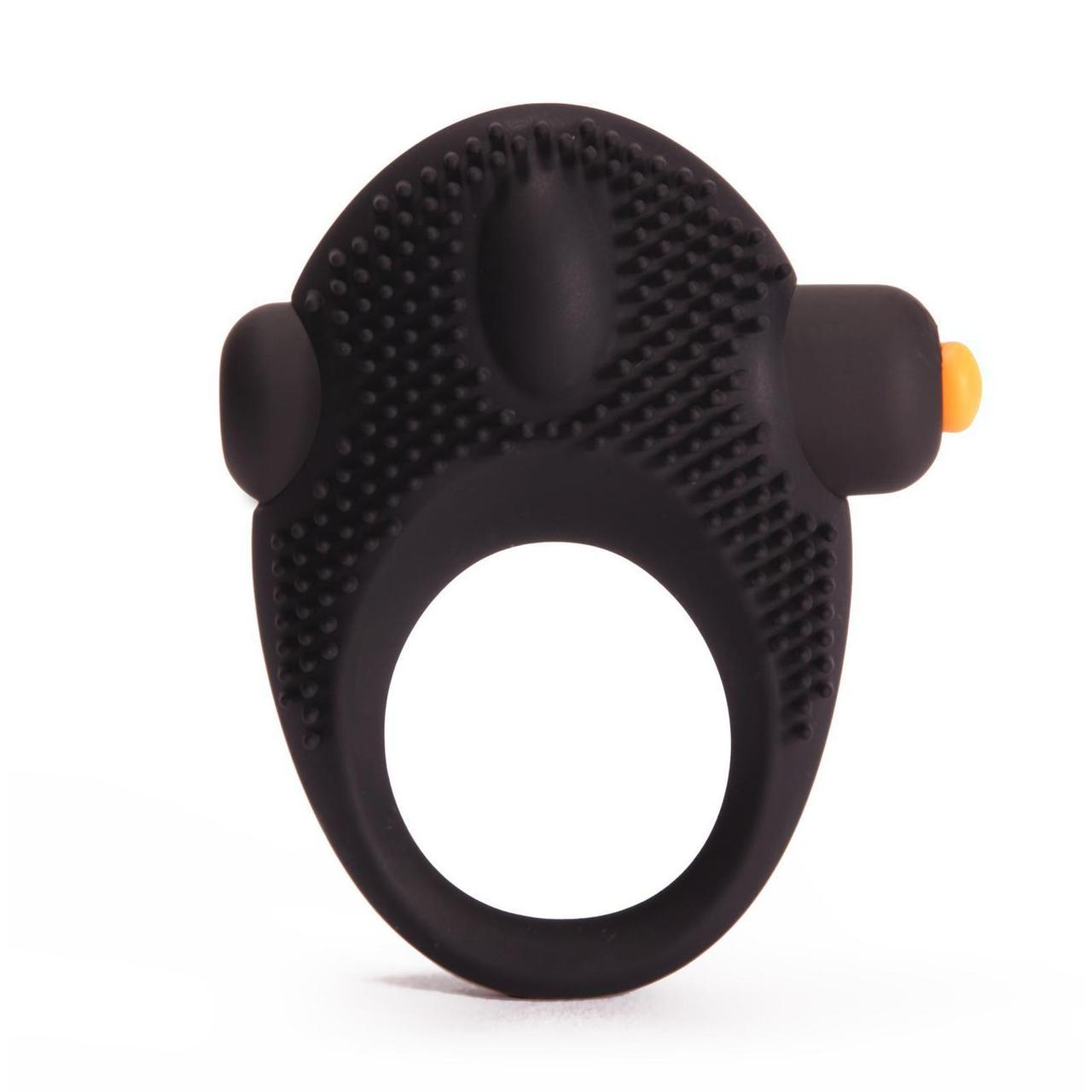 Эрекционное виброкольцо Pornhub Vibrating Cock Ring, мегастимуляция клитора, съемная вибропуля