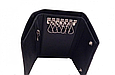 Кожаная мужская ключница-кошелек Brioni (91013) black, фото 2