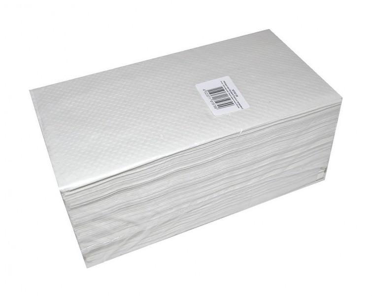 PROservice Standard Рушник паперовий V-скл. одношаровий  білий целюлозний 200 шт. (20шт./ящ.)