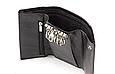 Кожаная мужская ключница-кошелек (16) black, фото 2